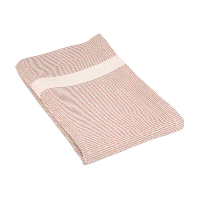Towel to wrap around you in rose