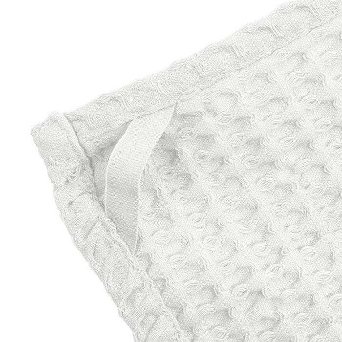 Big waffle hand towel / wash cloth - close up of texture