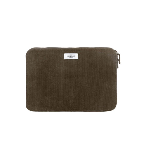 "Eco friendly laptop sleeve in organic corduroy - 3 sizes 3 colours Do you feel organic is the way to go for our planet and our families? Then this eco friendly laptop sleeve is for you! Protect your computer while doing a little good. Made from the best pure 100% GOTS Certified organic cotton corduroy, with organic wadding on the inside. Organic cotton saves 91% water compared to standard cotton. These make ideal sustainable gifts for Christmas and birthdays for him and her. 3 sizes to fit standard laptops (11"", 13"", 15"")."