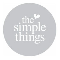 The Simple Things logo - featuring Chalk & Moss (www.chalkandmoss.com)