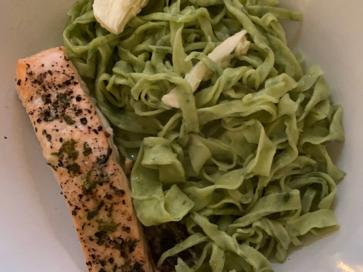 Wild garlic pasta recipe: dough is easier than you'd think!