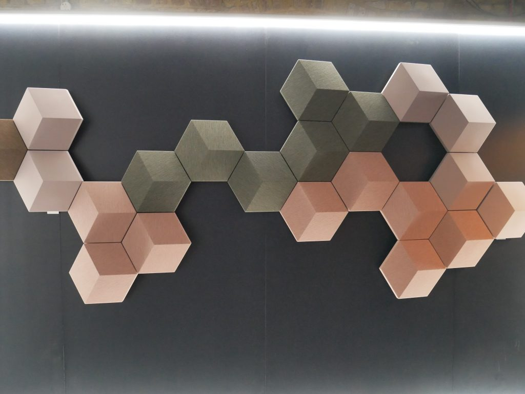 Bang&Olufsen's showed their new BeoSound Shape at Clerkenwell Design Week. These wireless, customisable system is due to launch autumn 2017.