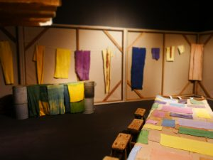 Lola Lely textiles featured in New Craftsmen installation at Selfridges, London Craft Week 2017