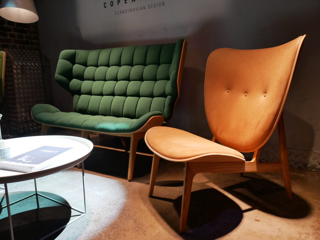 Norr11 exhibited at Clerkenwell Design Week, showing some of their beautiful natural wood furniture.