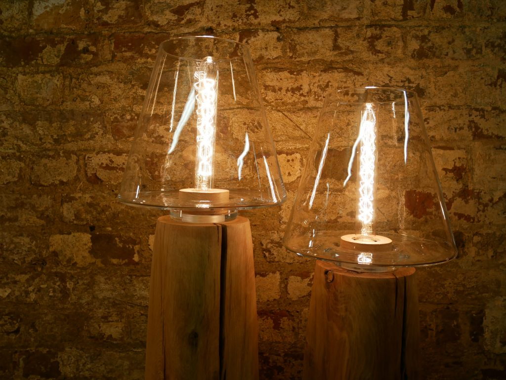 Clerkenwell Design Week 2017: Blue light inhibits melatonin, so sends so keeps you awake if used at night. The soft glow in the WUD Lighting range, on the other hand, helps melatonin production so would suit a bedroom or cosy snug well.