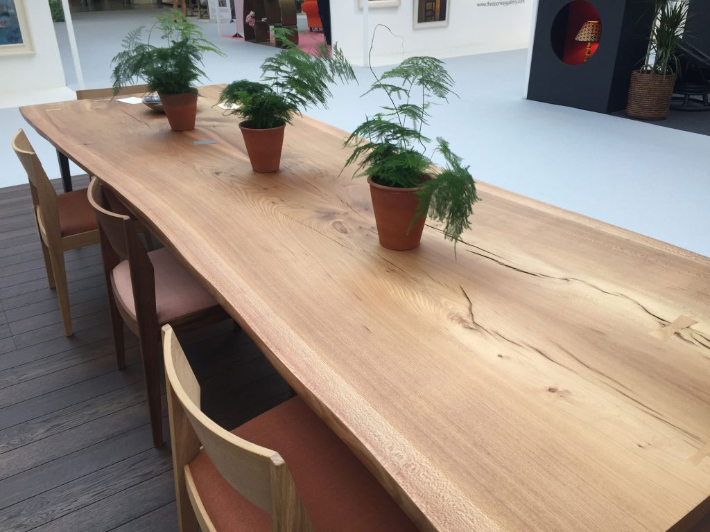 Benchmark were at House & Garden Festival, showing some stunning furniture. Their work is very well suited to biophilic, nature focused offices and homes.