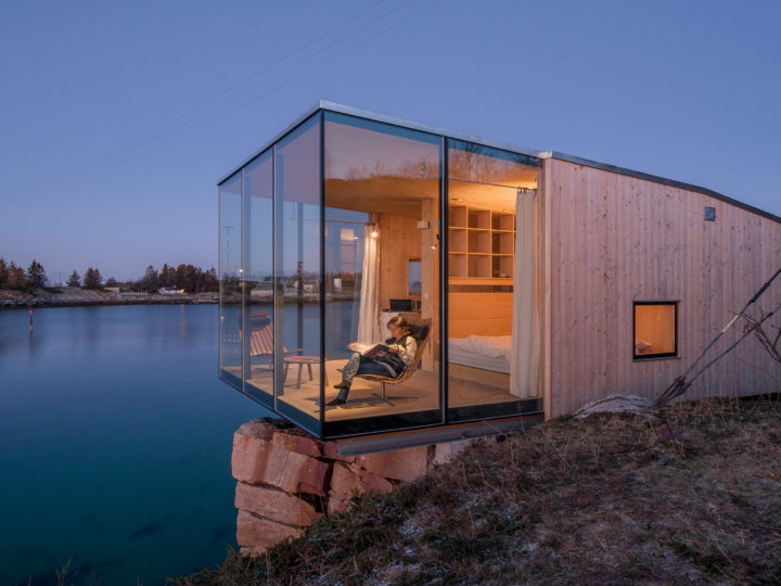 Norwegian Cabin: Manshausen Island Resort