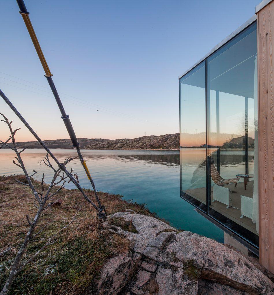 Norwegian cabin with stunning views.