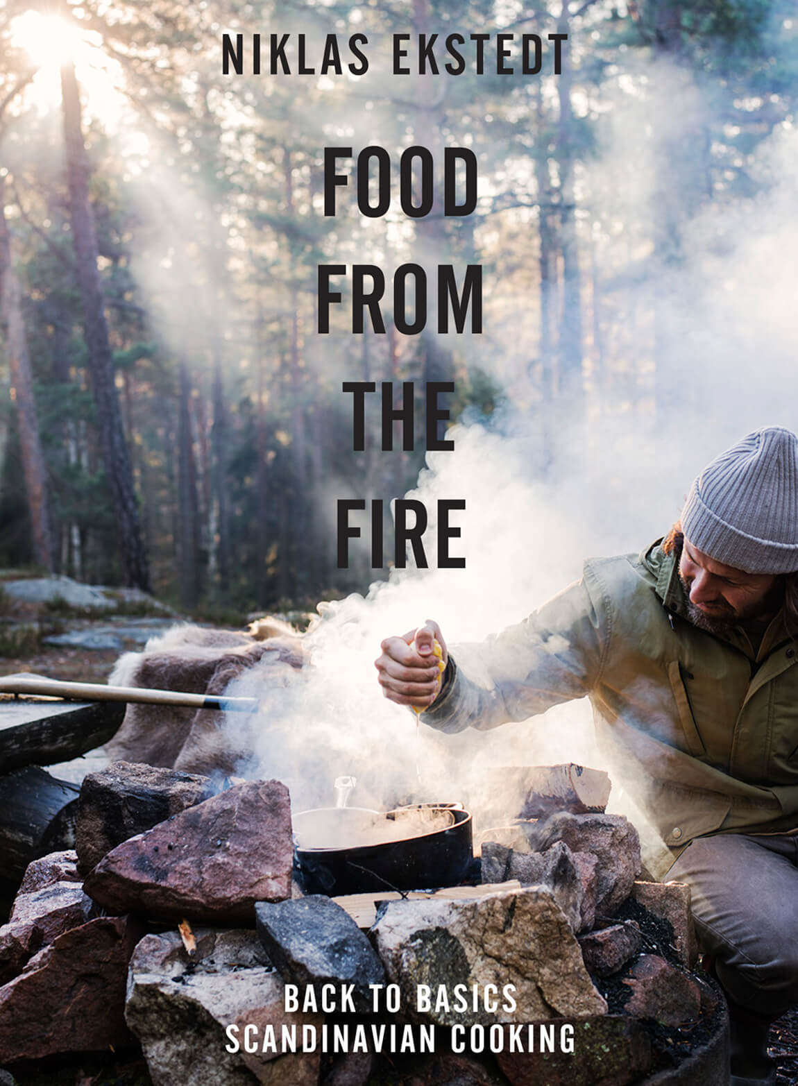 Food from the Fire: The Scandinavian Flavours of Open-Fire Cooking by Niklas Ekstedt, published by Pavilion Books.  Photo: Haarala Hamilton.