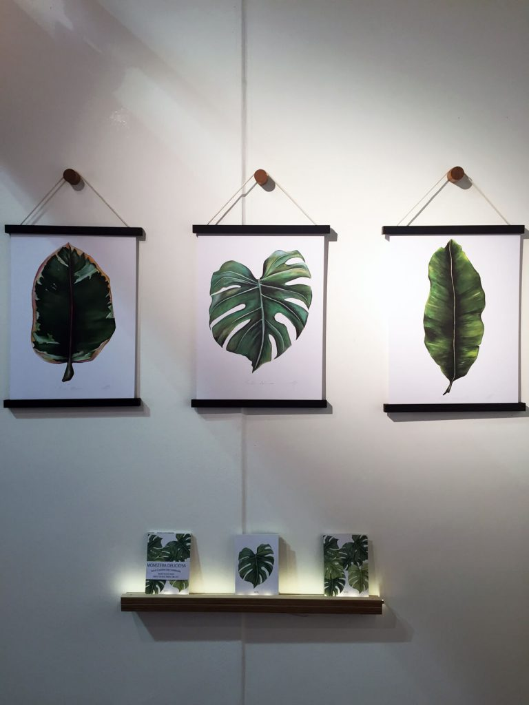 Botanics at Top Drawer / London Design Festival: Dollybirds Art prints and notebooks.