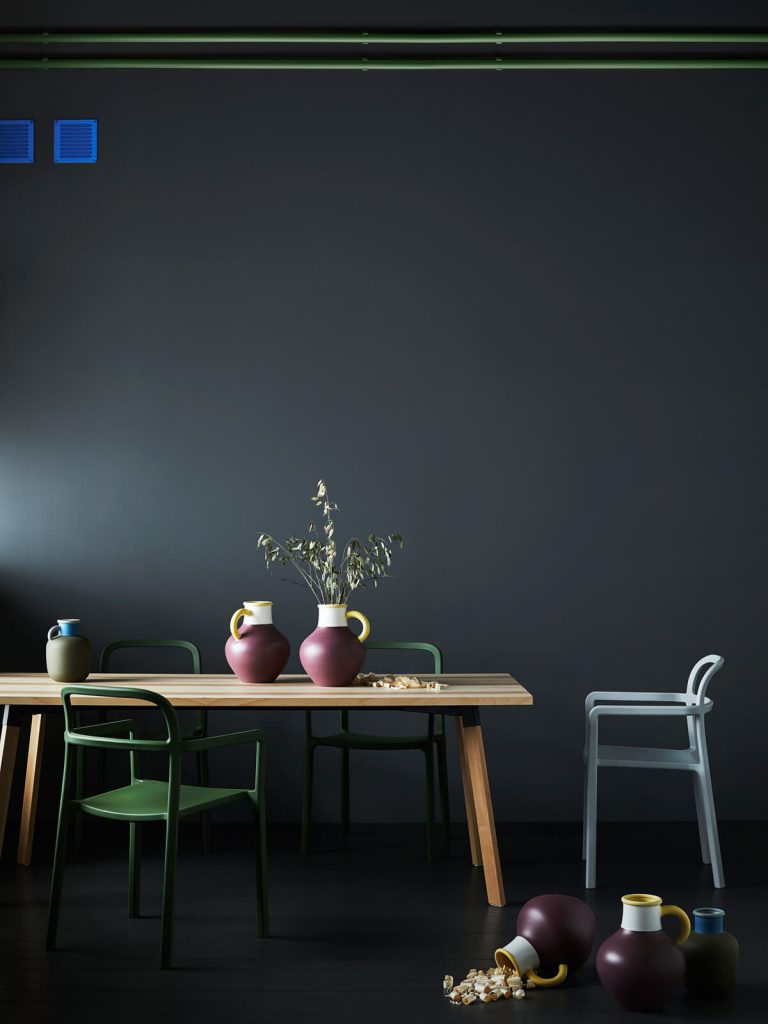 IKEA HAY collection YPPERLIG dining table