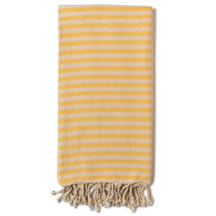 Turkish beach towels, Cemile in lemon