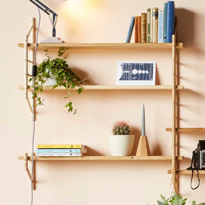 Wooden Wall Shelving - MIMA by John Eadon