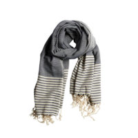 Striped Throw, Towel, Scarf, Peshtemal - Pelin