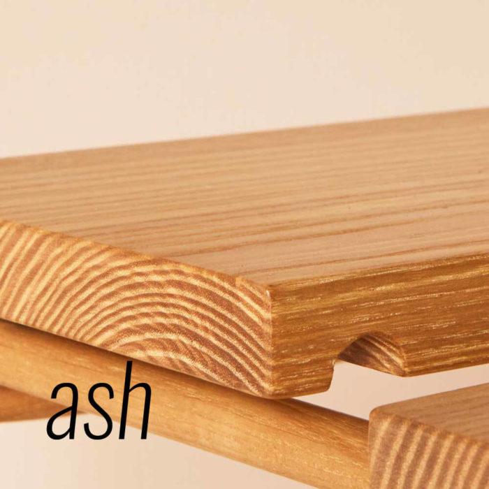 Ash MIMA shelving system by John Eadon