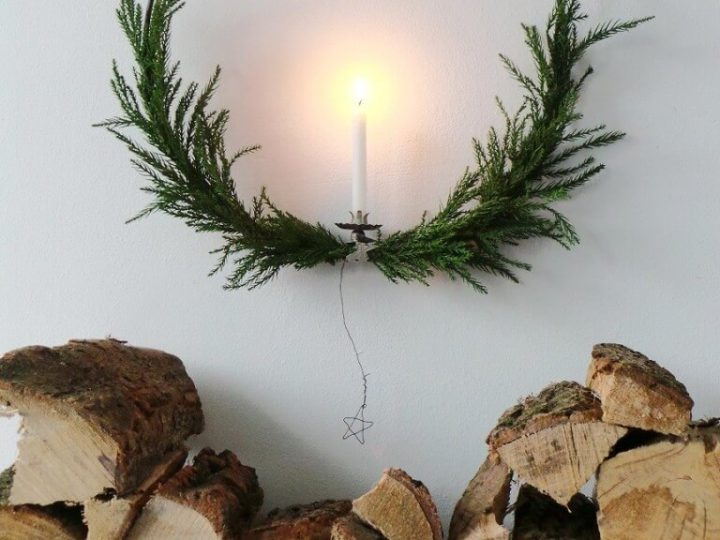 Decorate for a Natural Swedish Christmas