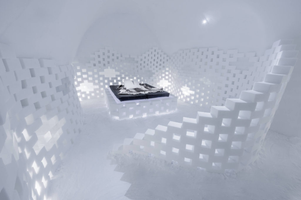 ICEHOTEL Art Suite 2017 by Nicolas Triboulot & Fernand Manzi