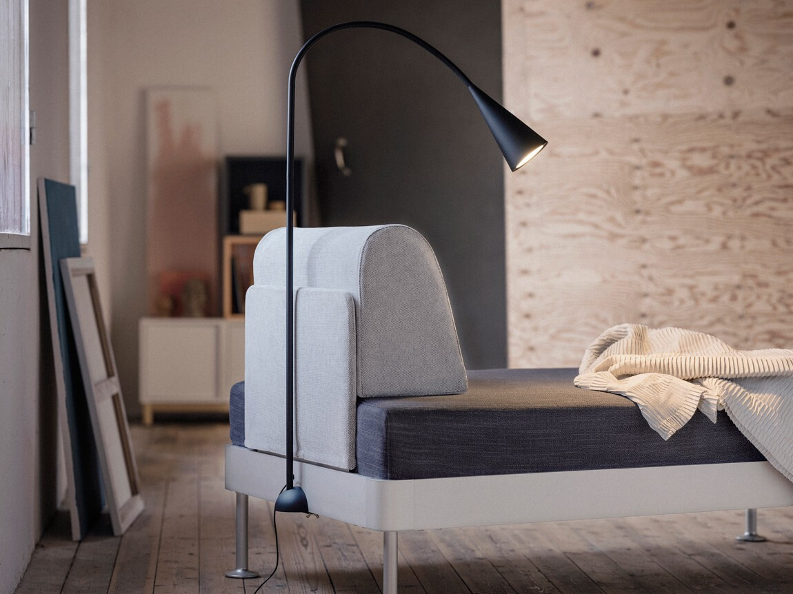IKEA and Tom Dixon create the DELAKTIG open source platform sofa.