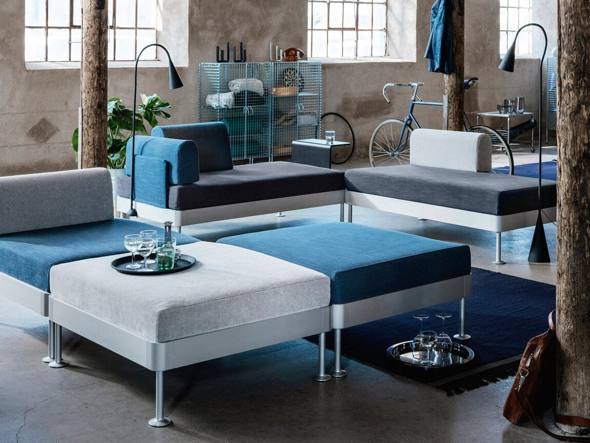 Tom Dixon IKEA collaboration: Delaktig. A modular furniture collection for contemporary living.