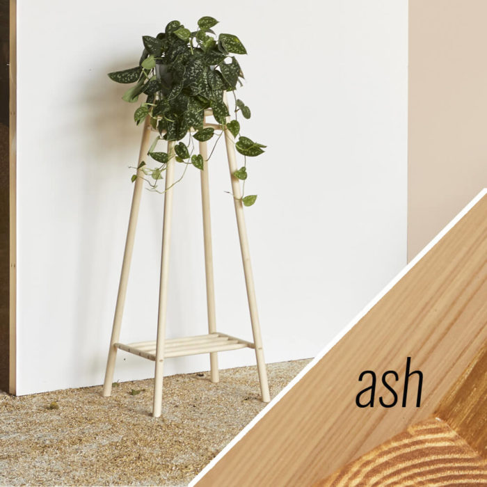 MIMA tall plant stand - ash - John Eadon on Chalk & Moss