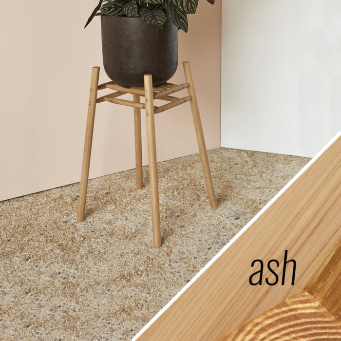 MIMA Plant Stand - Low - ash - by John Eadon on chalkandmoss.com