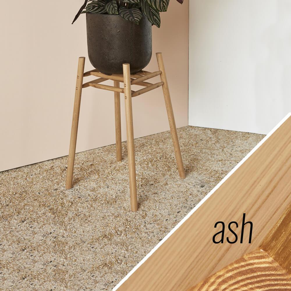 MIMA Plant Stand - Low - ash - by John Eadon on chalkandmoss.com