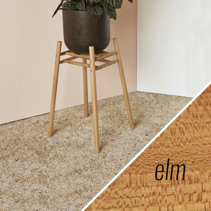 MIMA Plant Stand - Low - elm - by John Eadon on chalkandmoss.com