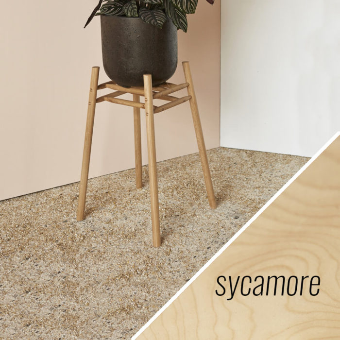 MIMA Plant Stand - Low - sycamore - by John Eadon on chalkandmoss.com