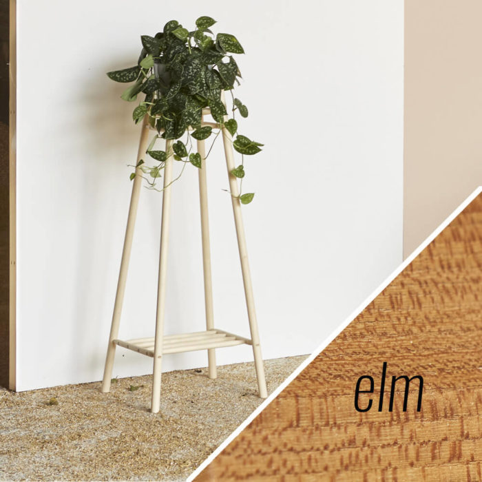 MIMA tall plant stand - elm - John Eadon on Chalk & Moss