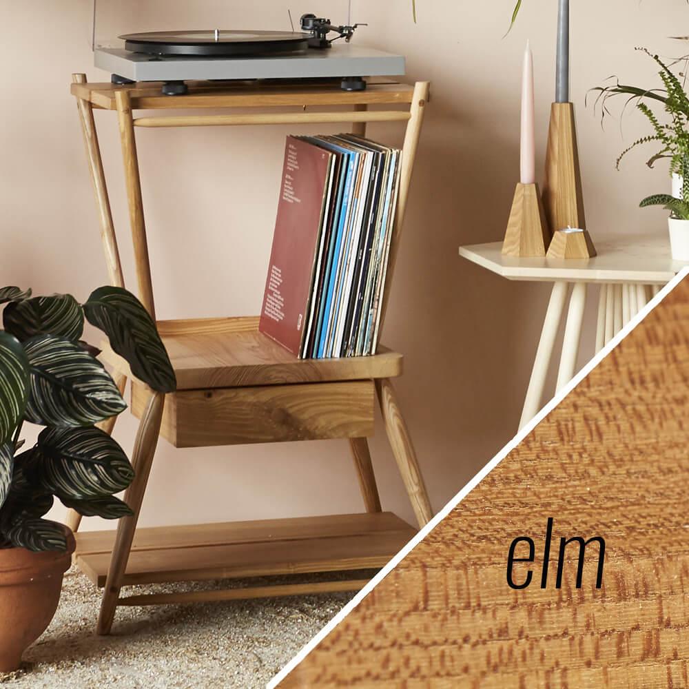 turntable stand MIMA - elm - John Eadon