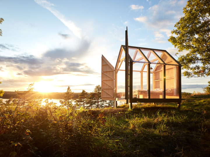 The Swedish stress buster: 72 hour nature cure in a glass cabin