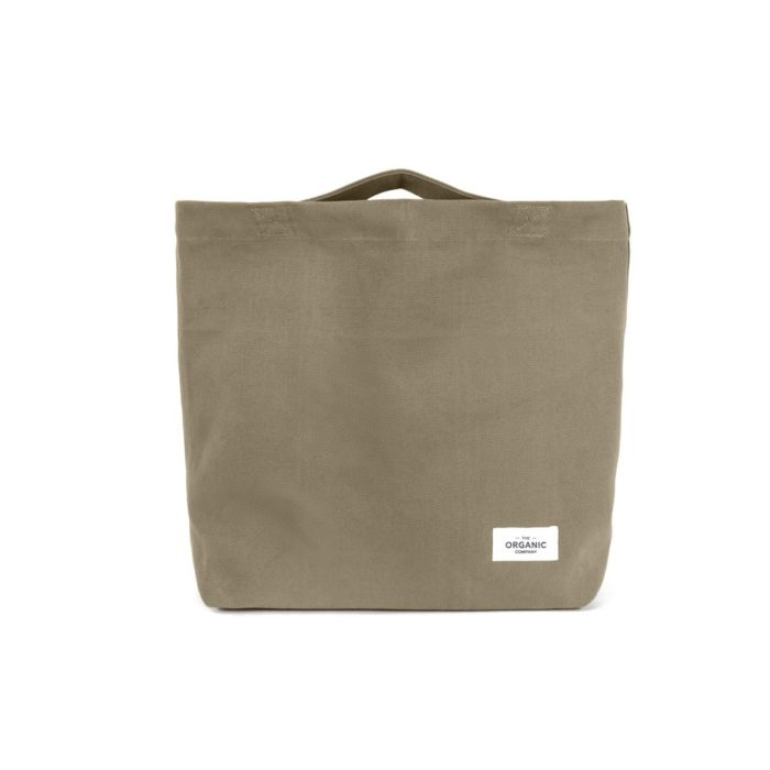 My Organic Bag in clay - 100% cotton shopping bag, perfect for fruit, vegetables and more.
