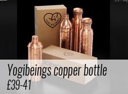 Pure copper bottles ion charge your water, giving it antioxidant, anti-inflammatory and anti-microbial properties. Copper bottles by Yogibeings, hand crafted by artisans, are available on chalkandmoss.com. Part of Plastic Free July and beyond: https://www.chalkandmoss.com/product-tag/plastic-free/