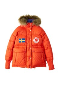 In their collaboration, Acne kept all the technical functionality of Fjällräven's Expedition Down Jacket, keen not to compromise on functionality.