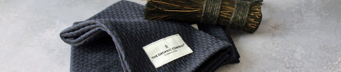 The Organic Company, based in Denmark, design 100% GOTS certified organic home textiles including towels, kitchen cloths, blankets, bags and plastic free food bags.