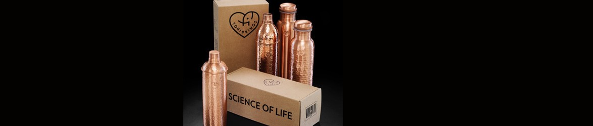 Yogibeings, as well as being a source of Ayurvedic health information and yoga classes, make copper bottles that charge your water with antibacterial, anti-inflammatory and anti-microbial properties.