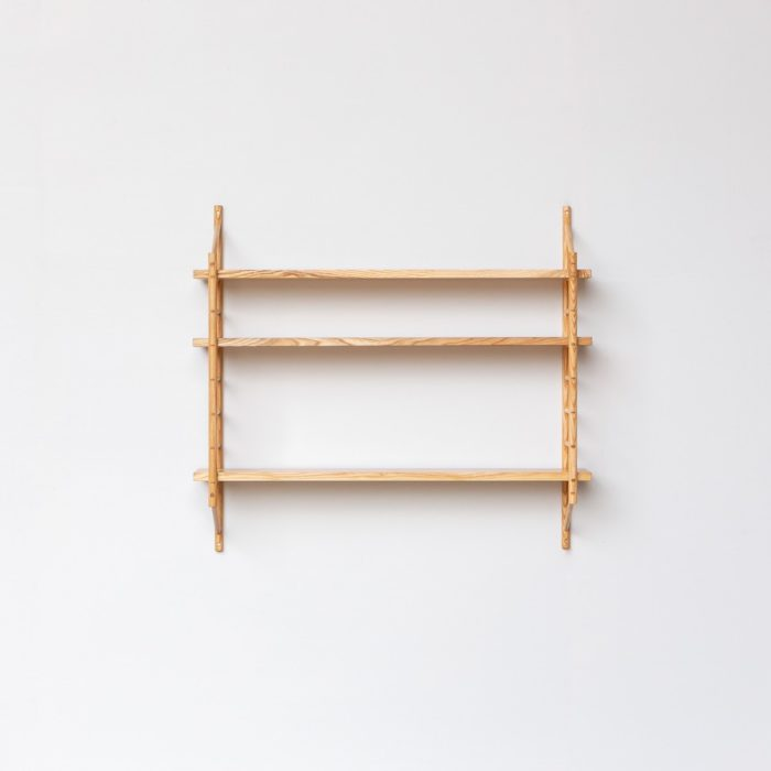 The MIMA modular shelving components can be configured to your needs. The beautiful joins add character to your configuration. You can buy small or large sets, or components to your measurements.