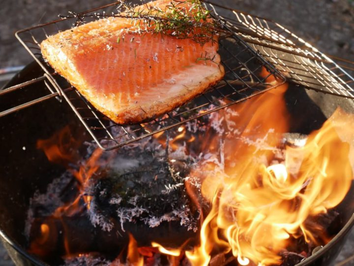Hot smoked salmon recipe – Food from the Fire