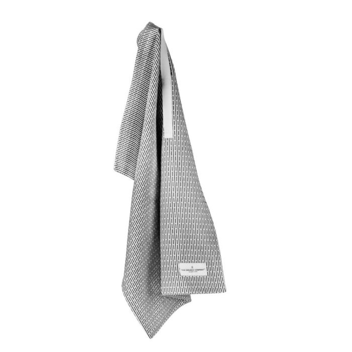 Morning grey (light grey) little hand towel by The Organic Company.