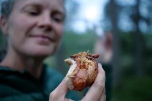 Foraged porcini mushroom, or Karl Johan svamp