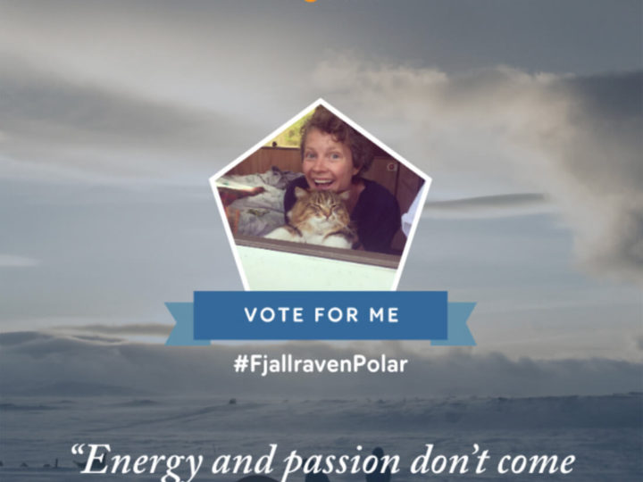 Fjallraven Polar – VOTE for my ARCTIC adventure!