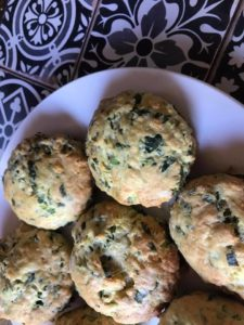 Molly's wild garlic and cheese scones. See her house at @thedarkdarkhouse on Instagram.