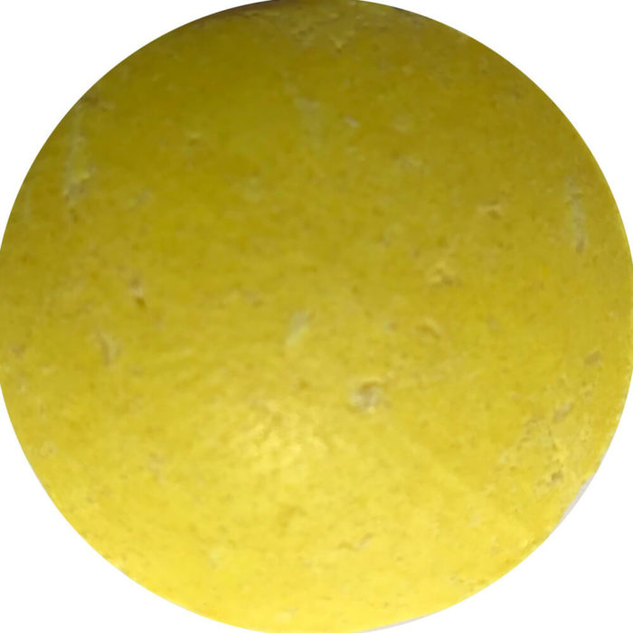 A zesty shampoo bar for all hair types. The citrus lather leaves hair lustrous. Organic turmeric, lemon and lemongrass. Made in the UK.