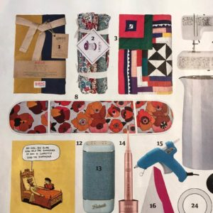 The Poppy red oven gloves were featured in The Guardian newspaper, as their number 8 favourite Christmas Gift for 2020.