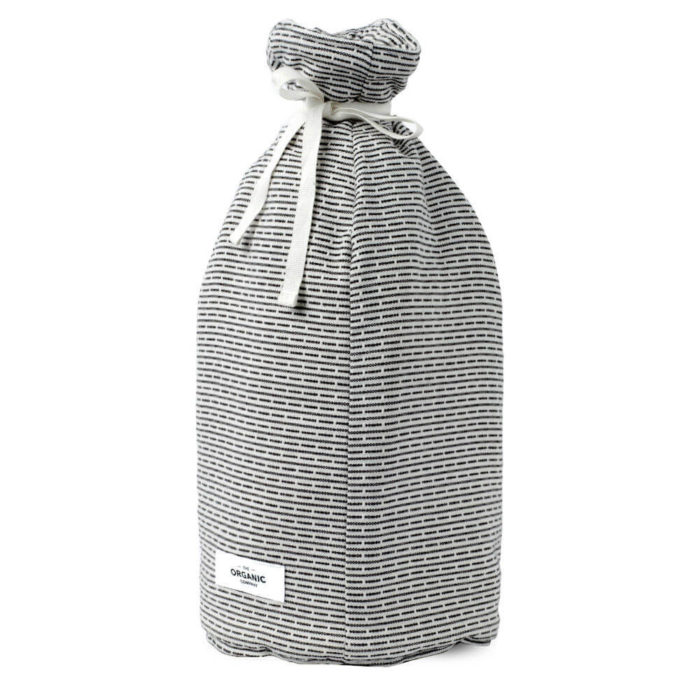 Stylish Scandinavian coffee cosy in padded organic cotton, witha textured piqué weave. Choose from two grey shades.This is morning grey.