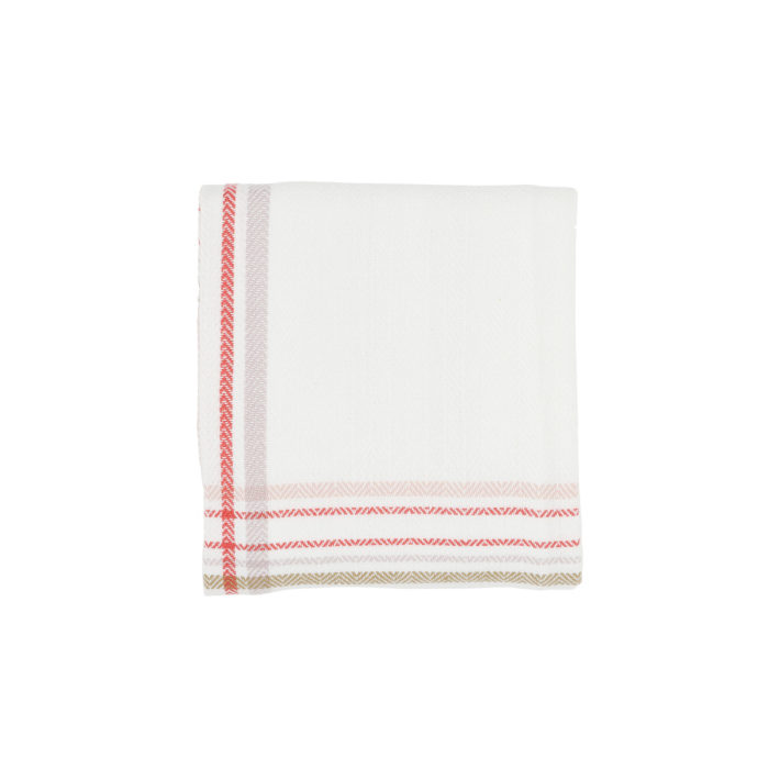 Extra large kitchen tea towel in Danish design, with a choice of many stylish colours, including the popular check series, seen here in floral check. Absorbent, long lasting and ethical. 86 x 53cm
