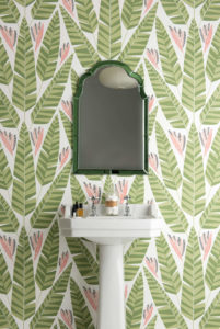 For homeowners looking to embrace the outdoors, opt for a bold wallpaper inspired by the world around us. MissPrint's Jungle wallpaper features large shield-like leaves of the tropical banana print in a stunning repeat pattern, this unique wall covering will inject a fun and playful feel into any room whilst evoking a jungle-inspired aesthetic.